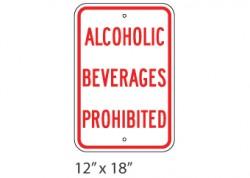 Alcoholic Bev. Prohibited