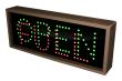 Outdoor LED Signal Signs - Open / Full Toggle