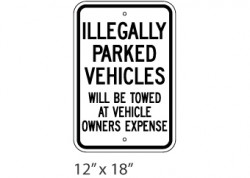 Illegally Parked Vehicles
