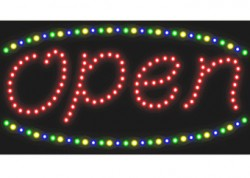 Lowercase Open Sign