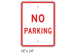 No Parking – Large