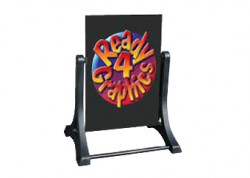 Ready 4 Graphics Swinger Sign black