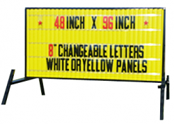 Deluxe Reader Board Sign