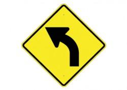 Slight Left Turn