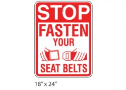 Stop Fasten Seat Belt
