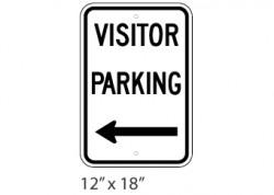Visitor Parking Left