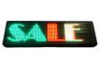Tri-Color Scrolling LED Sign