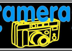 Cameras Sign