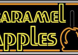Caramel Apples Sign