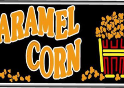 Caramel Corn Sign