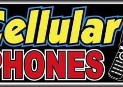 Cellular Phones Sign