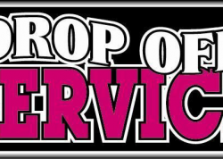 Drop Off Service Sign