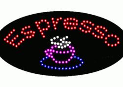 Espresso Oval LED