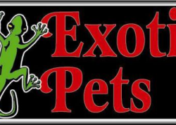 Exotic Pets Sign