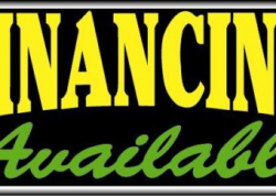 Financing Available Sign