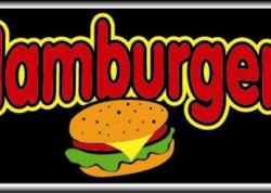 Hamburgers Sign