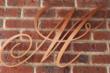 Flat Cut Copper Letters
