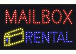 Mailbox Rental LED