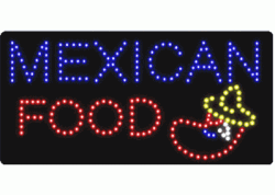 Mexican Food LED