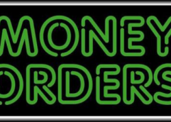 Money Orders Sign