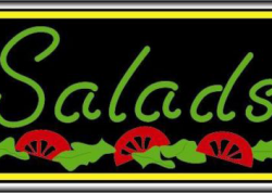 Salads Sign