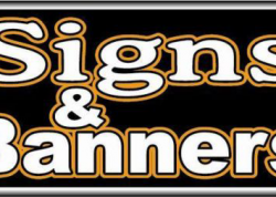 Signs & Banners Sign