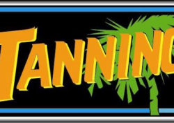 Tanning Sign