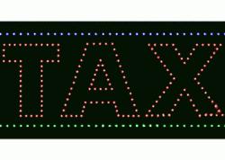 Tax LED