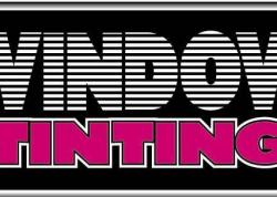 Window Tinting Sign