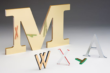 Laminated Acrylic Display Letters
