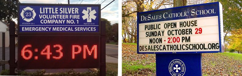 Public Works Sign Mounting Options