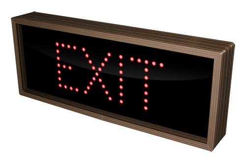 Outdoor LED Signal Signs - Exit