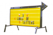 Outdoor LIghted Portable Message Sign - Standard Flashing Arrow