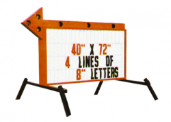 Standard Arrow Sign