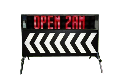 Outdoor Lighted Portable LED Signs