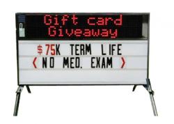 Reader Boards + LED Sign