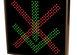 LED X / Arrow Sign – Deluxe