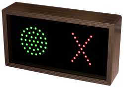 LED Indicator Dot / X