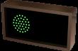 Outdoor LED Signal Sign - Indicator Dot / X