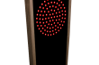 Outdoor LED Signal Signs - Red Green Indicator Dots Vertical