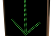 Outdoor LED Signal Signs - LED X / Arrow Traffic Controller