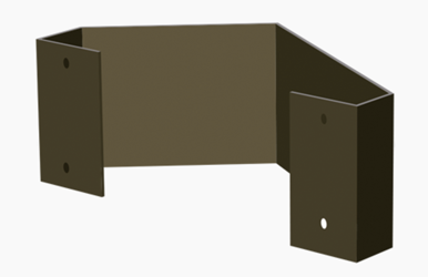 LED Signal Sign Dual Angle Bracket
