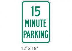 15 Minute Parking