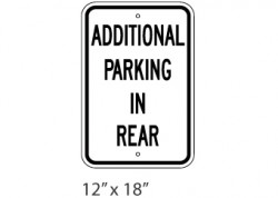 Additional Parking In Rear