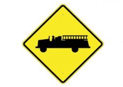 Fire Truck Crossing