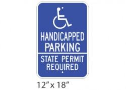 Handicap State Permit