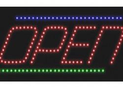Italic Open Sign