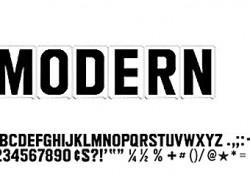 Modern Letters
