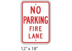 No Parking- Fire Lane