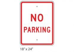 No Parking – Large